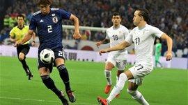 """Збірна Японії у результативному спарингу """"перестріляла"""" Уругвай"""