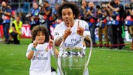 Син Марсело забив класний гол і ефектно його відсвяткував у стилі батька