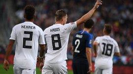 Германия впервые в истории проиграла 6 матчей за один год
