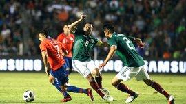 Товарищеские матчи: Мексика уступила Чили, Колумбия победила Коста-Рику