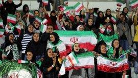 В Иране женщины посетили футбольный матч впервые с 1979 года