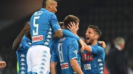 Наполі розгромив Удінезе: 9 тур Серії А, матчі суботи