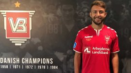 Юрченко дебютував за Вайле у матчі проти Копенгагена