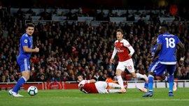 Арсенал победил Лестер и одержал десятую победу подряд во всех турнирах