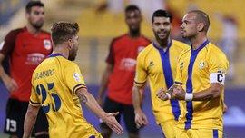 Снейдер забил эффектный гол в чемпионате Катара