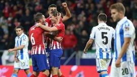 Атлетико – Реал Сосьедад – 2:0 – видео голов и обзор матча