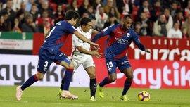 Севилья минимально одолела Уэску: 10-й тур Ла Лиги, матчи воскресенья