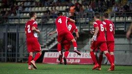 Вторая лига: МФК Металлург уверенно обыграл Никополь
