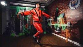 Зинченко спародировал Майкла Джексона и разорвал сеть на Хэллоуин
