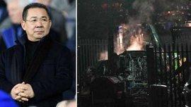 Падіння вертольота з власником Лестера: з'явилось відео трагедії