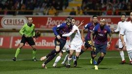 Кубок Іспанії: Барселона на останніх секундах обіграла представника 3 дивізіону