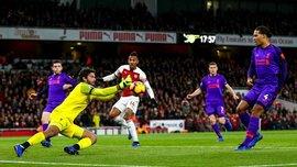 Арсенал – Ливерпуль – 1:1 – видео голов и обзор матча