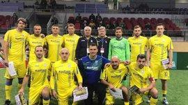 Легенды Днепра сыграют со сборной Украины среди ветеранов в честь 100-летия клуба