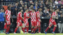 Жирона на выезде переиграла Валенсию: 11 тур Ла Лиги, матчи субботы