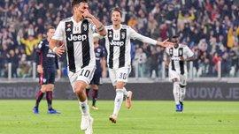 Ювентус одолел Кальяри: 11-й тур Серии А, матчи субботы
