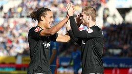 РБ Лейпциг разгромил Герту: 10-й тур Бундеслиги, матчи субботы