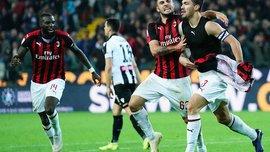 Удінезе – Мілан – 0:1 – відео гола та огляд матчу