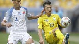 Словацкий защитник Шатка не смог прибыть в лагерь сборной перед игрой с Украиной – на него напали и сломали челюсть