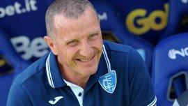 Емполі звільнив головного тренера у день його народження