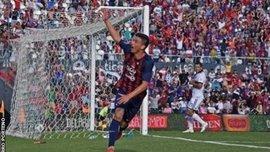 14-летний юноша забил гол в чемпионате Парагвая