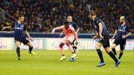 Лига чемпионов: Барселона упустила победу над Интером, однако первой вышла в плей-офф турнира