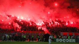 """""""F*ck you, Liverpool F*ck you"""", – захоплююче відео, як сербські фанати """"вітали"""" мерсисайдців"""