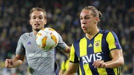 Фенербахче – Андерлехт – 2:0 – видео голов и обзор матча
