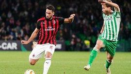 Бетис – Милан – 1:1 – видео голов и обзор матча