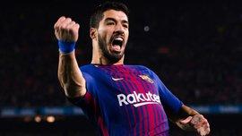 Суарес стал лучшим игроком Ла Лиги в октябре