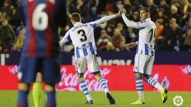 Реал Сосьедад одержал волевую победу над Леванте