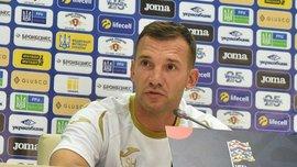Шевченко: В сборную Украины должен приезжать человек с мотивацией, а не чтобы получить место в составе