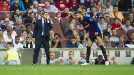 Барселона в огне: бранная ссора двух лидеров и конфликт Вальверде с Пике