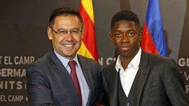 Барселона схвильована непрофесіональною поведінкою Дембеле