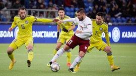 Ліга націй: Казахстан розійшовся миром із Латвією