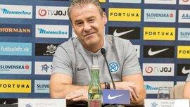 Словаччина – Україна: передматчева прес-конференція Павела Гапала