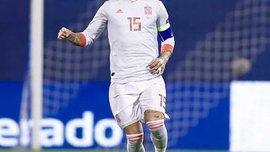 Рамос покинул сборную Испании из-за травмы