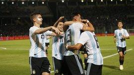 Товарищеские матчи: Аргентина уверенно одолела Мексику, Чили проиграло Коста-Рике