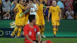 Австралия и Южная Корея разошлись миром в спарринге