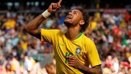Неймар – только третий футболист сборной Бразилии, который забил 60 голов за национальную команду