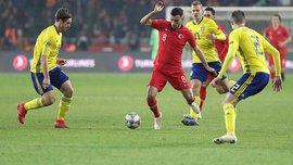 Турция – Швеция – 0:1 – видео гола и обзор матча