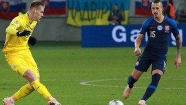 Форвард Словаччини Зрелак розповів, завдяки чому вдалось перемогти збірну України