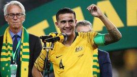 Тім Кехілл провів прощальний матч за збірну Австралії