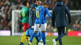 Неймар рассказал о своей травме, полученной в матче с Камеруном
