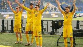 Украина в Лиге наций: стали известны все потенциальные соперники в плей-офф