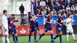 Ейбар сенсаційно розтрощив Реал, Уеска та Леванте розійшлись результативною нічиєю: 13 тур Ла Ліги, матчі суботи