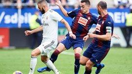 Ейбар – Реал – 3:0 – відео голів та огляд матчу