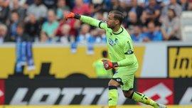 Вратарь Хоффенхайма Бауман сделал ассист в матче Бундеслиги – он будет противостоять Шахтеру в Лиге чемпионов