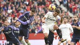 Севилья – Вальядолид – 1:0 – видео гола и обзор матча