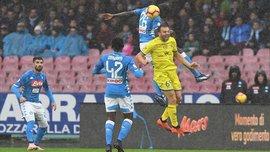 Наполи – Кьево – 0:0 – видеообзор матча