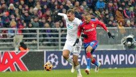 Лига чемпионов: Виктория Пльзень обыграла ЦСКА и опустила москвичей на 4-е место